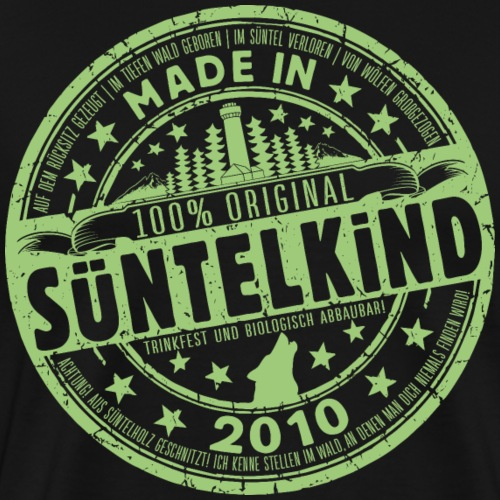 SÜNTELKIND 2010 - Männer Premium T-Shirt