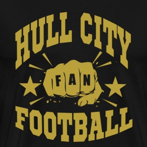 Hull City Fan - Premium-T-shirt herr
