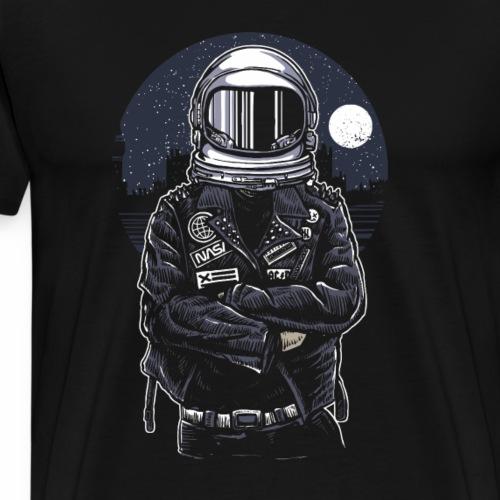 Astronaut Rebel - Männer Premium T-Shirt
