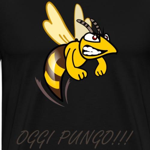 oggi pungo - Maglietta Premium da uomo