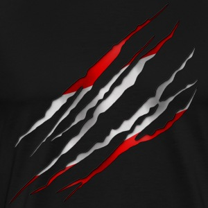 Austria Slit open 001 - Men's Premium T-Shirt