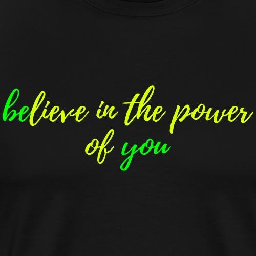 Selbstbewusstsein - Männer Premium T-Shirt