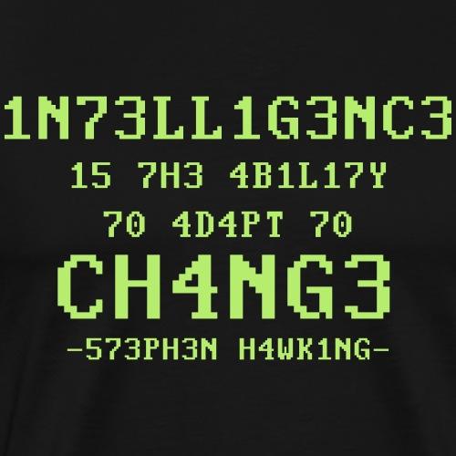 Stephen Hawking - Mannen Premium T-shirt