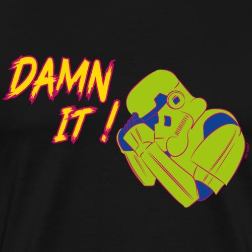 Stormtrooper Damn it!© - Männer Premium T-Shirt