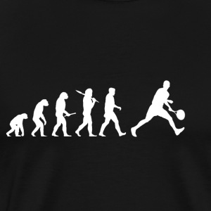 Evolution Tennis! lustig! - Männer Premium T-Shirt