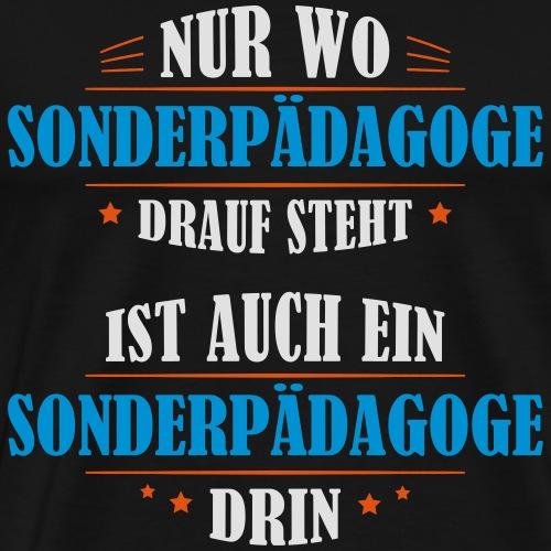 Sonderpädagoge Beruf Geschenk - Männer Premium T-Shirt