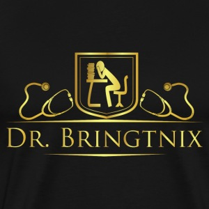 Dr.Bringtnix luxury stethoscope - Men's Premium T-Shirt