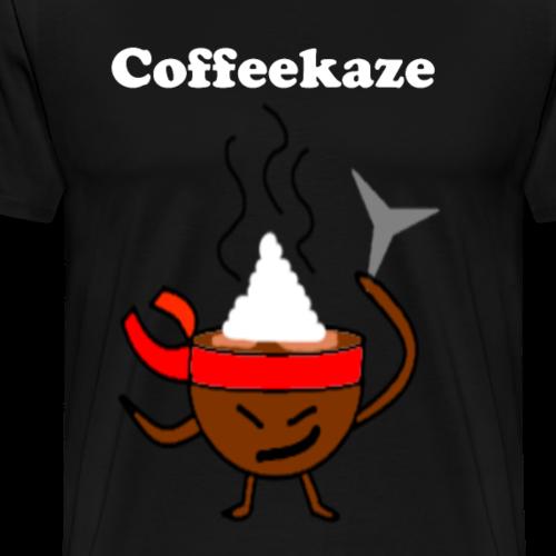 Coffeekaze - Männer Premium T-Shirt