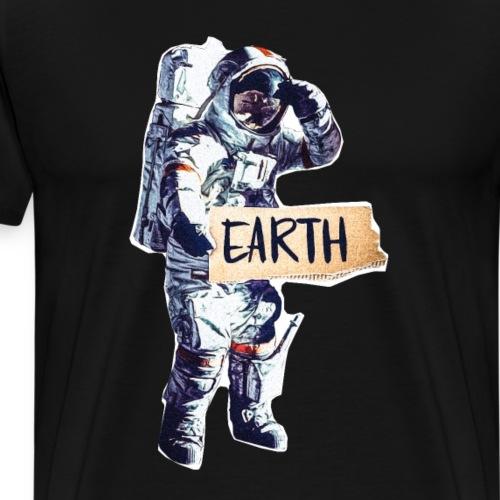 Astronaut - Männer Premium T-Shirt