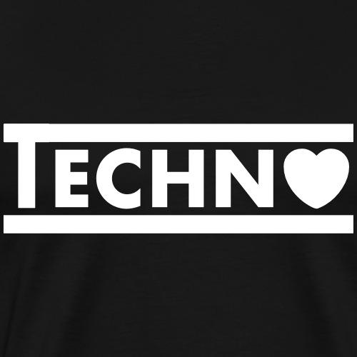 Techno Heart - Men's Premium T-Shirt