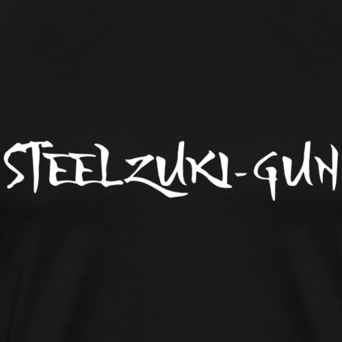 OFFICIAL STEELZUKI-GUN DESIGN #1 - Men's Premium T-Shirt
