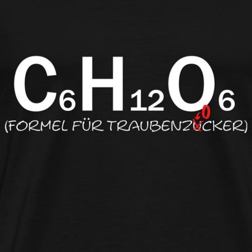 Traubenzocker Formel - Männer Premium T-Shirt