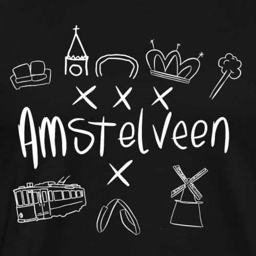 Amstelveen shirt - Mannen Premium T-shirt
