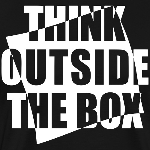 Think outside the BOX - Männer Premium T-Shirt
