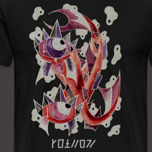 Poisson Négutif - T-shirt Premium Homme