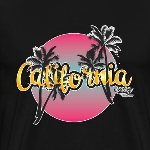 Kalifornien - Sommer - Surfen - Männer Premium T-Shirt