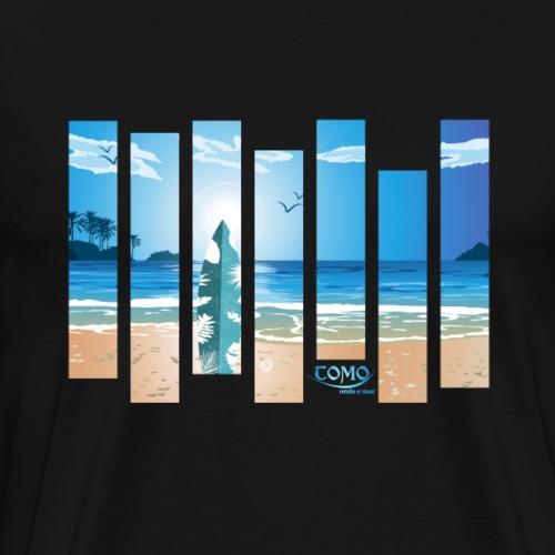 Surfing - Beach Life - Strand - Wellen - Männer Premium T-Shirt