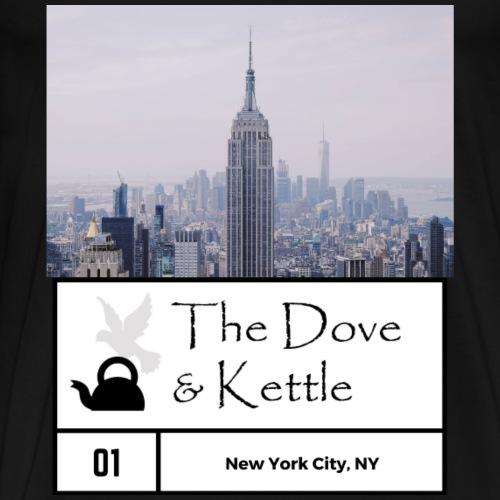 DandK New York Skyline - Men's Premium T-Shirt