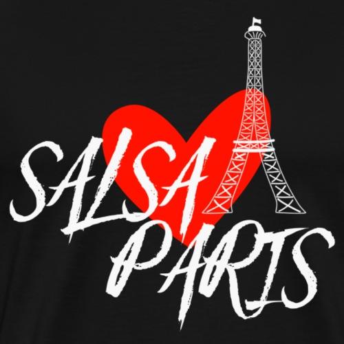 Salsa Paris white Danceshirt - Männer Premium T-Shirt