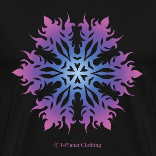 Purple Snowflake - Maglietta Premium da uomo