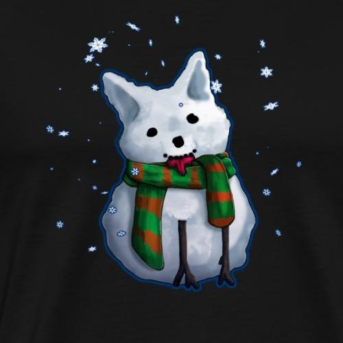 SnowCorgi - Männer Premium T-Shirt