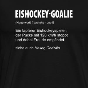 Eishockey Goalie - Männer Premium T-Shirt