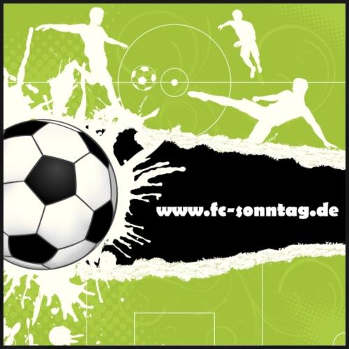 FC Sonntag Weblogo - Männer Premium T-Shirt