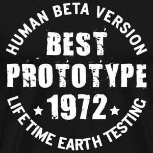 1972 - The year of birth of legendary prototypes - Men's Premium T-Shirt