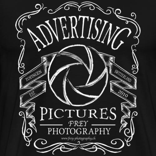 Fotografie im Whiskey Design - Männer Premium T-Shirt
