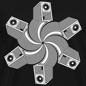 Speaker coil 23 - Men's Premium T-Shirt