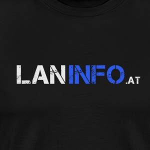 LANinfo Banner Light - Männer Premium T-Shirt