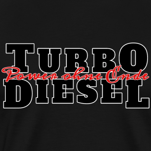 Turbo Diesel - Männer Premium T-Shirt