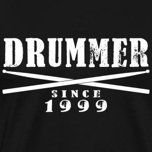 Schlagzeuger T-Shirt - Drummer since 1999 - Männer Premium T-Shirt