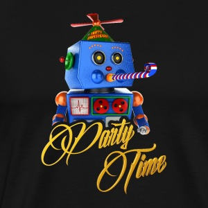 Sweet Party Time Robot - Mannen Premium T-shirt