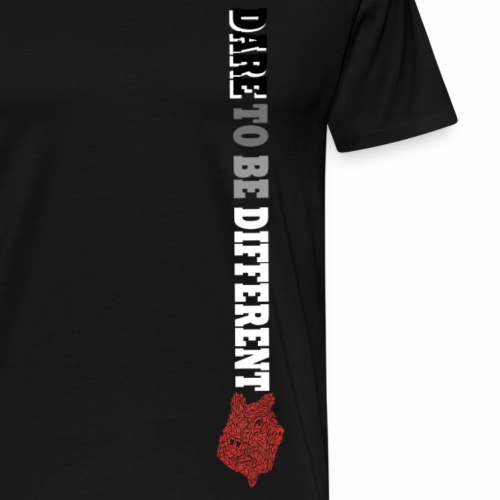 Dare to be different - Mannen Premium T-shirt
