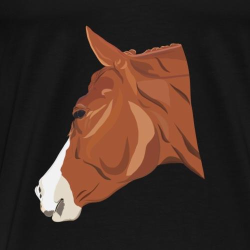 Quarter Horse - Männer Premium T-Shirt