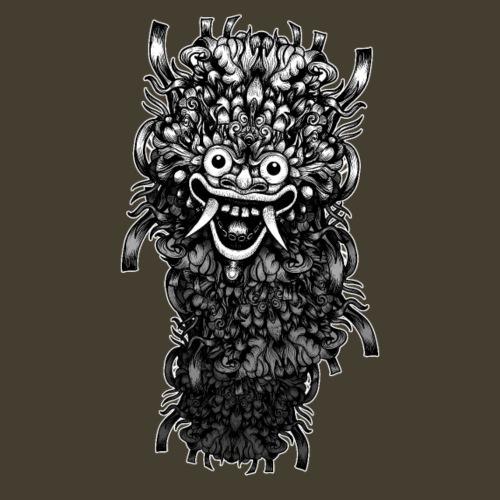 Máscara de Bali - Camiseta premium hombre