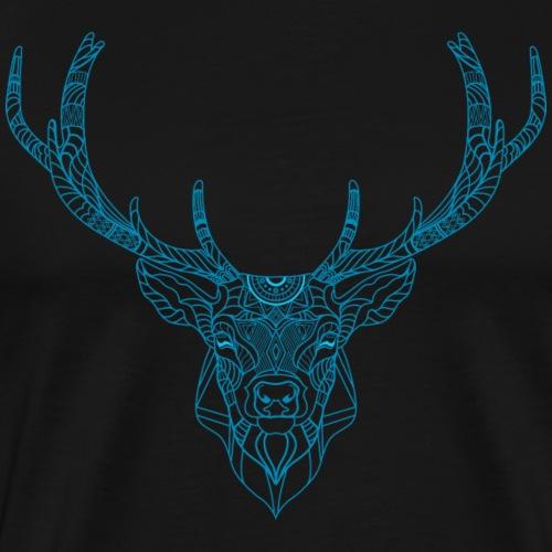 Hirsch Art - Männer Premium T-Shirt