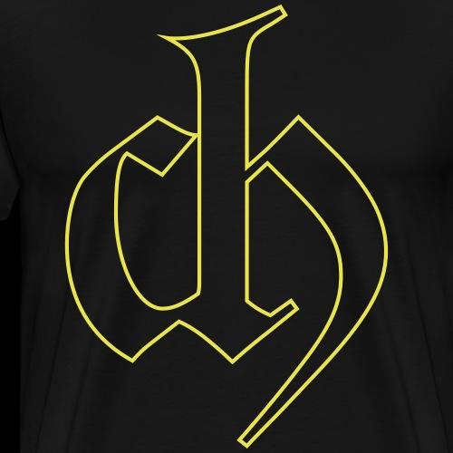 Chemistry CH logo - Mannen Premium T-shirt