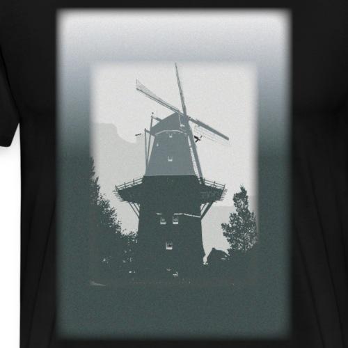 Mills grey - Männer Premium T-Shirt