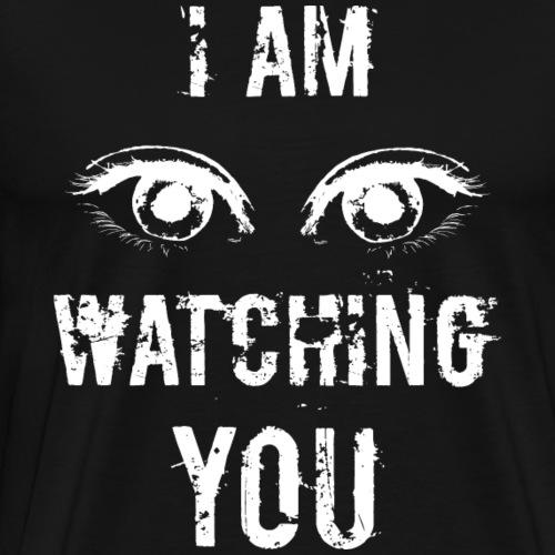 Watching You WHITE Edition - Männer Premium T-Shirt