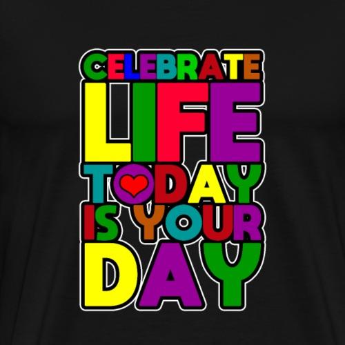 Dein Tag - Kinder Geburtstag - T Shirt - Geschenk - Männer Premium T-Shirt