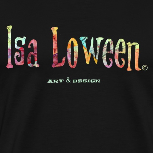 Isa Loween Art & Design Logo - T-shirt Premium Homme