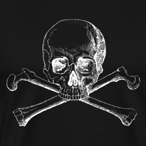 Totenkopf / Skull and Bones - Männer Premium T-Shirt