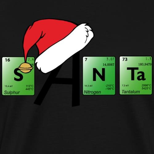 Periodensystem Santa - bunt - Männer Premium T-Shirt