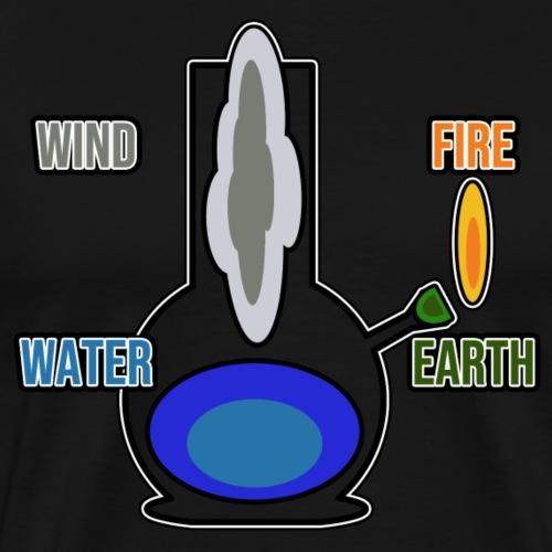 4/20 bong - Kiffer Shirt - Geschenk - Männer Premium T-Shirt