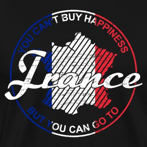 Frankreich Flagge - Männer Premium T-Shirt