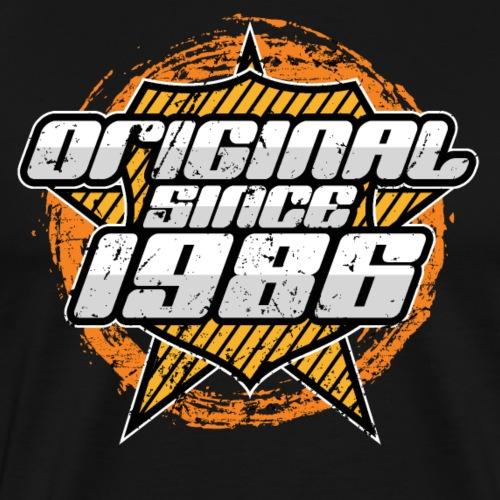 1986 Retro Geburtstag - Männer Premium T-Shirt