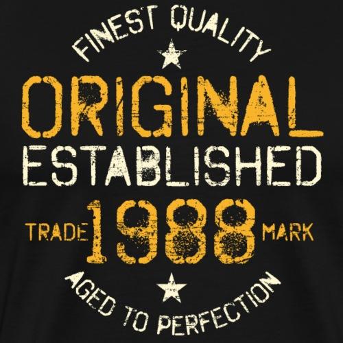 1988 Vintage Geburtstag - Männer Premium T-Shirt