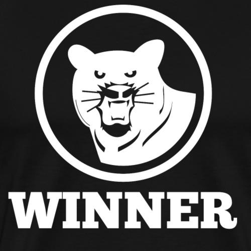 tiger winner gewinn tiger - Männer Premium T-Shirt